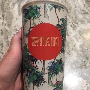 Waikiki Starbucks 12oz coffee tumbler